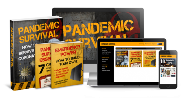 Pandemic Survival helps in protecting against the virus