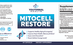 MitoCell Restore helps in giving a youthful glow and improving longevity