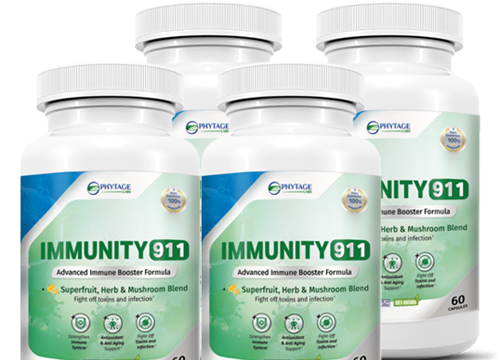 Immunity 911 helps in supporting a strong immune system