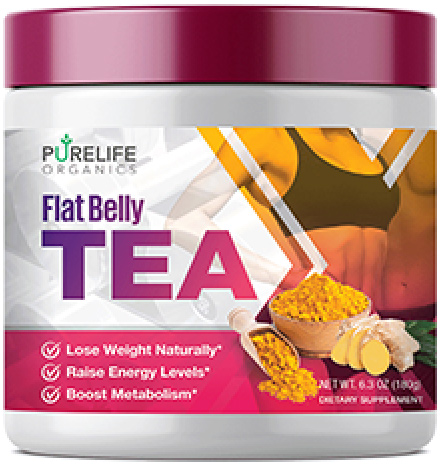 PureLife Organics Flat Belly Tea is a natural weight loss solution