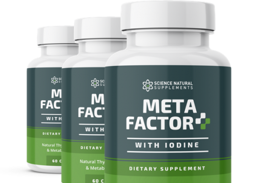 Meta Factor + With Iodine helps in supporting a healthy thyroid