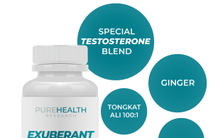 PureHealth Research Exuberant improves male energy and stamina