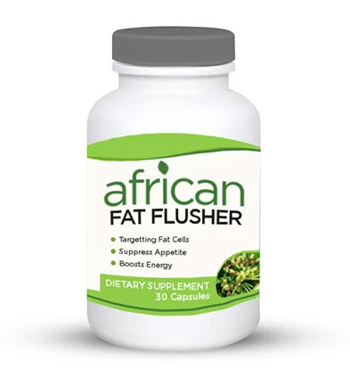 African Fat Flusher helps in losing stubborn body fat