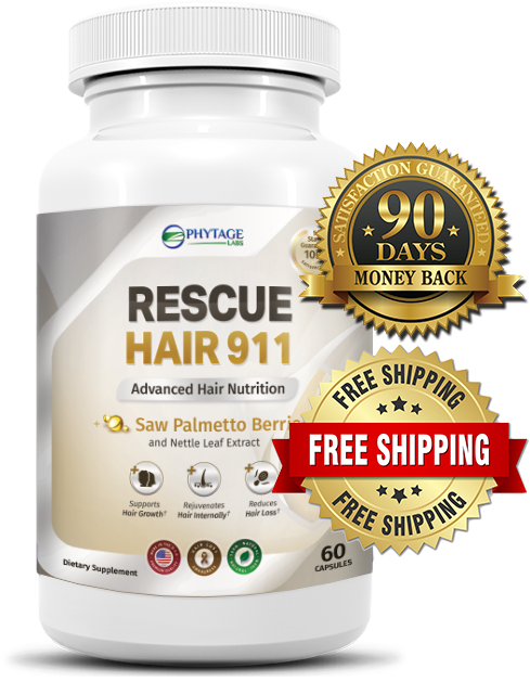 Rescue Hair 911 is a hair growth supplement