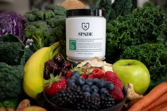 Spade SB-66 is a superfood blend