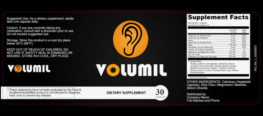 Volumil Hearing Loss contains potent ingredients